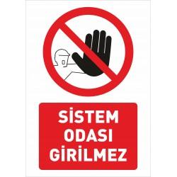 SİSTEM ODASI GİRİLMEZ A5...