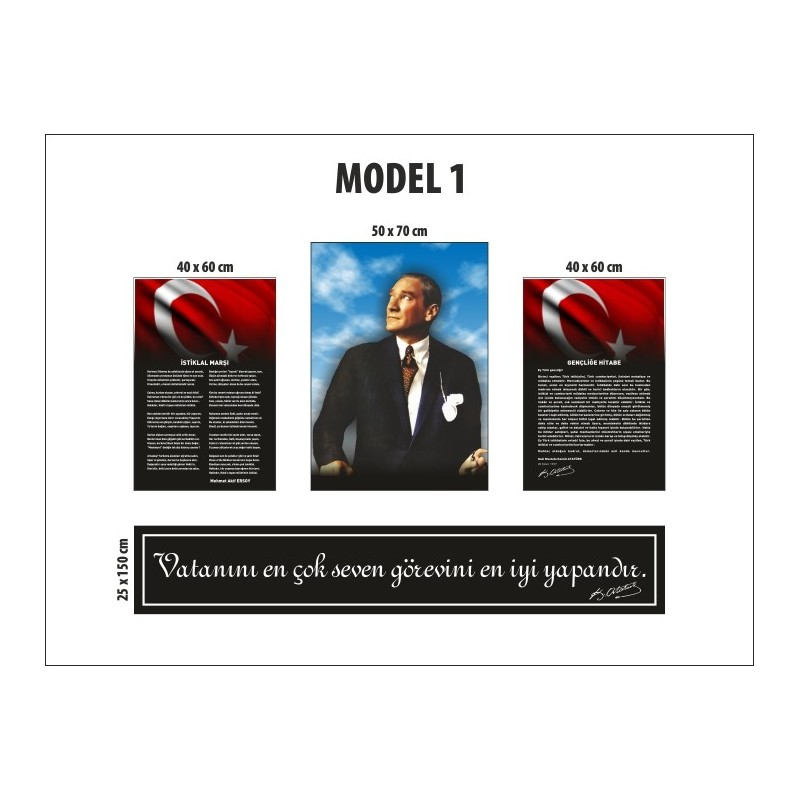 Model 1 - A