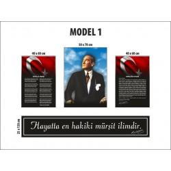 Model 1 - B