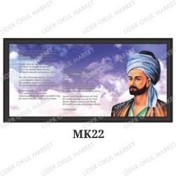 Atatürklü Makam Panosu - MK22